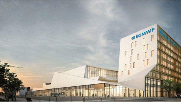 Le quartier Toulouse Aerospace pourrait accueillir le CEPMMT (image de synthèse)