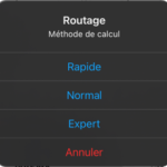 Weather4VR – Le routage Expert